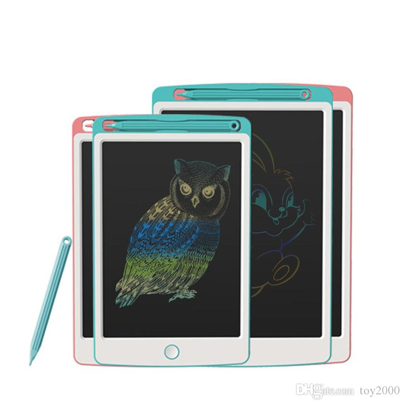 Drawing Toys 8.5/10 Inch LCD Drawing Board Ultra-thin Writing Tablet Electronic Handwriting Pad Colorful Screen Board