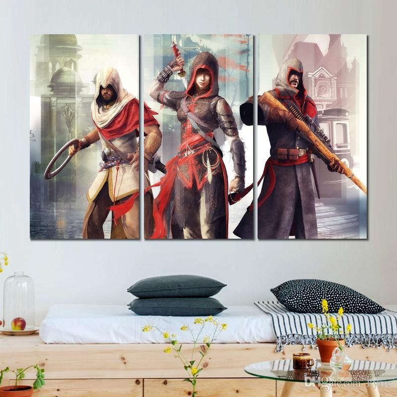 2020 Assassins Creed Chronicles China Canvas Printed Painting Wall