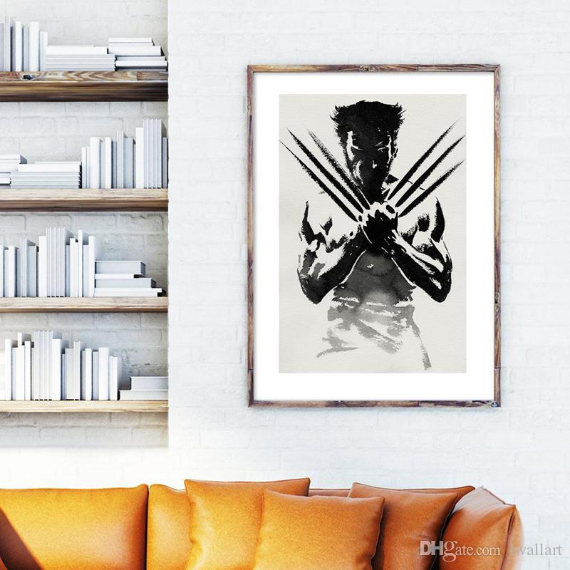 The Wolverine Marvel Art Canvas Poster Wall Picture Print Picture For Living Room Home Bedroom Decoration