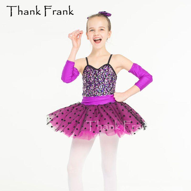 b0d52d342b80 2019 New Girls Tutu Ballet Dress Colorful Sequins Kids Adult ...