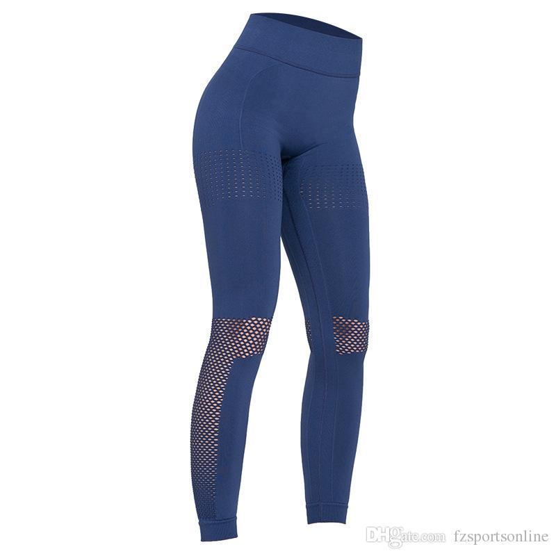 ad9e6f58079732 2019 Women Fitness Leggings Push Up Yoga Pants High Waist Seamless Leggings  Sport Trouser Workout Running Pant Women Stretch Gym Pant #328383 From ...