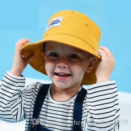 14e00d34c3d 2019 Parent Child Fisherman Hat Spring And Summer Men And Women Baby Visor  Baby Sun Hat Tide Models Cotton Children Sun Hat Sunscreen0303 From ...