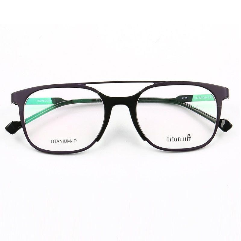 717354fca19 2019 Cubojue Titanium Glasses Frame Men Women Eyeglasses For Man S Degree  Optical Prescription Spectacles Double Bridge Eyewear Brand From  Marquesechriss