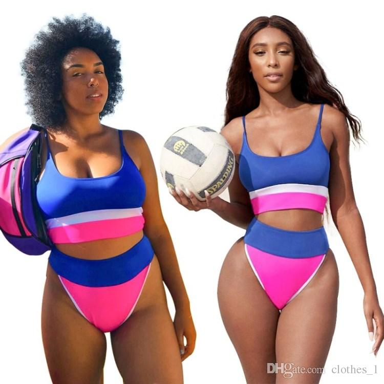 2d6bffb92b508 2019 Womens Swimwear Bikini Swimsuit Swimming Wear Bathing Suit Sexy Slim  Fashion Lady Woman Swimwear High Quality Tankinis Klw0393 From Clothes_1,  ...