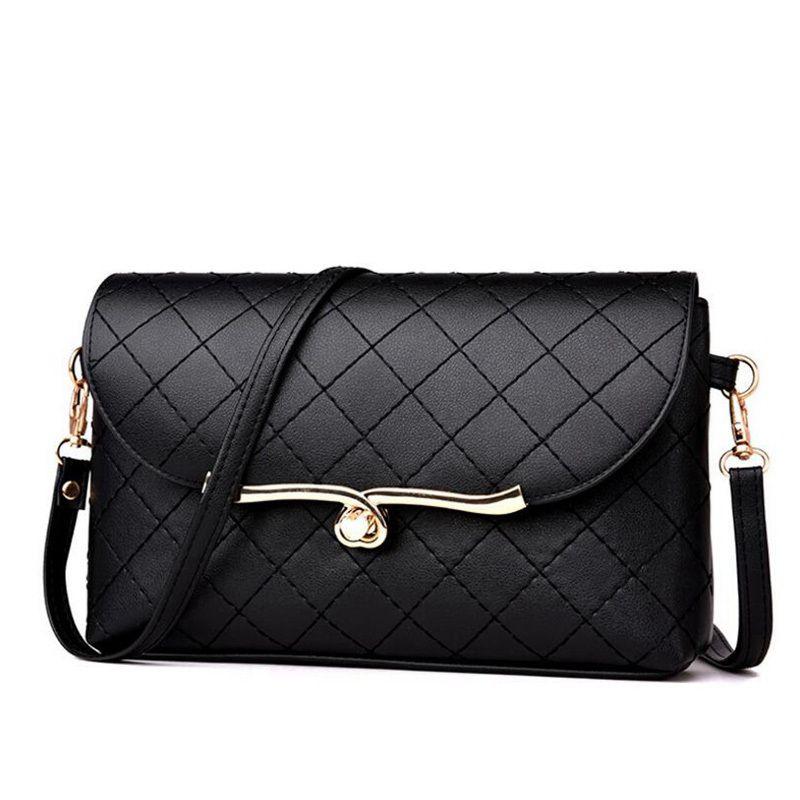 0ab524705fd6 New Pu Leather Women Bags Ladies Shoulder Bag Female Solid Crossbody Bags  For Women Leather Handbag Summer Small Handbag Lw 148 Cheap Bags Cute Purses  From ...