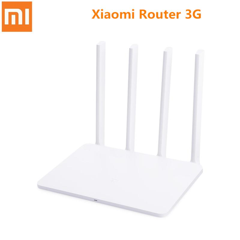 Xiaomi Router 3G MI Wireless Router 1167Mbps 2 4G/5GHz Dual 128MB Band  Flash ROM 256MB Memory APP Control WiFi