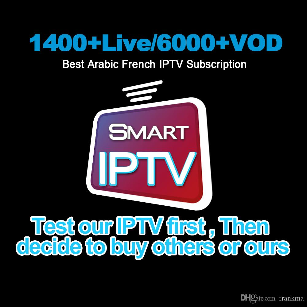 France IPTV Subscription Dragon Pro Iptv Support Android TV Box Smart TV  Mag 250 M3u With 1400 Live 6000 VOD For Italy UK Arab Belgium