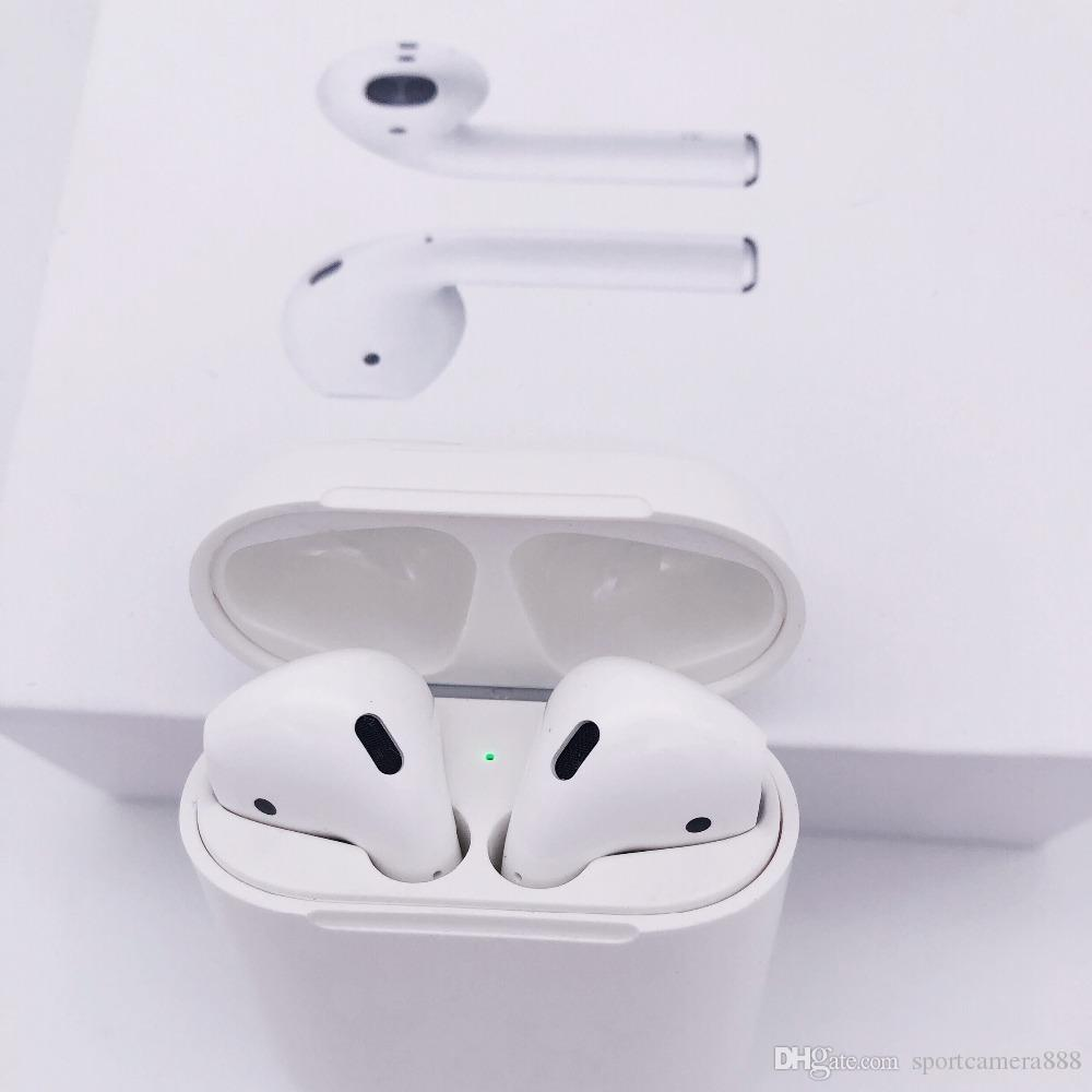 2019 New bluetooth earphones For AirPods Wireless Headphones siri SuperCopy  air Pods Works Touch Voice Control for iphone 6 7 8 9 x xs i7s