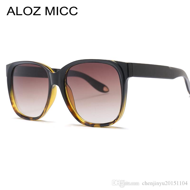 991eb277cd58 ALOZ MICC Vintage Square Sunglasses Women 2019 Brand Designer Oversize Sun  Glasses Men Fashion Unisex Eyewear UV400 A376 Kids Sunglasses Locs  Sunglasses ...