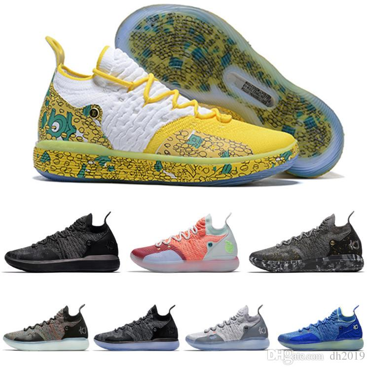 0af355151aaa9e 2019 2019 New KD 11 Durant EP White Orange Foam Pink Paranoid Oreo ICE  Basketball Shoes Original Kevin XI KD11 Mens Trainers Sneakers From Dh2019