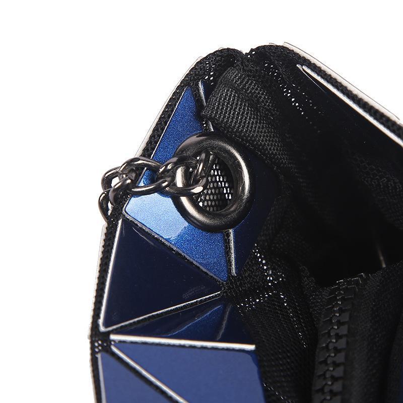 Mode Femmes Sacs À Bandoulière Chaînes Dames Crossbody Messenger Sacs Géométrique Filles Sacs De Soirée En Cuir Pu Femelle Hangbags