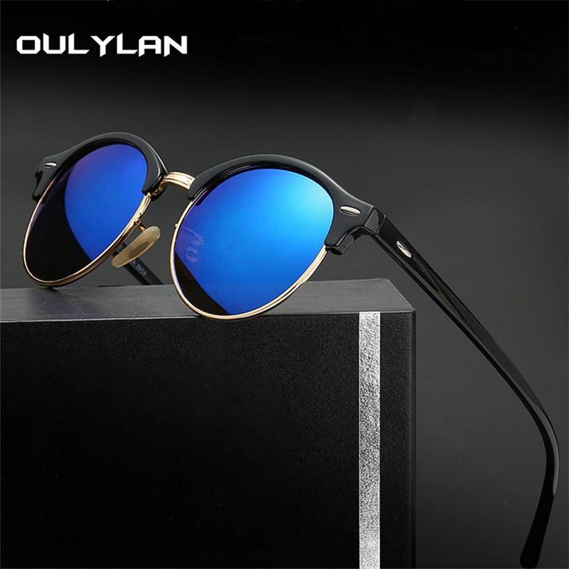 8510d4216d9a90 Oulylan Polarized Sunglasses Men Classic Driving Sun Glasses Retro ...