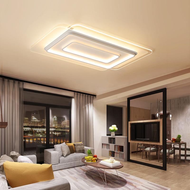Acheter Moderne Simple LED Plafonniers Lustres Pour Salon Chambre ...