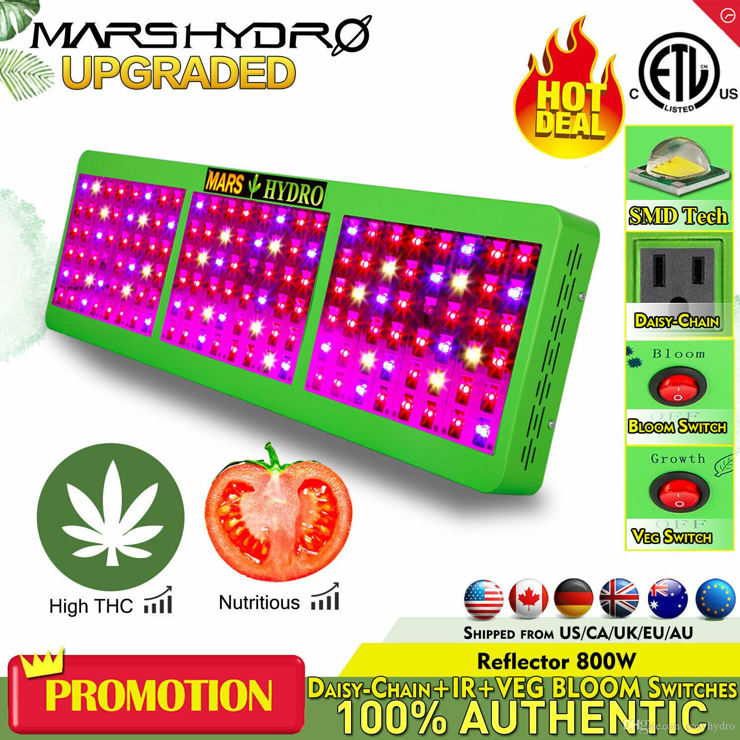 Marshydro Reflector 720w Indoor Led Grow Lamp Ir Full