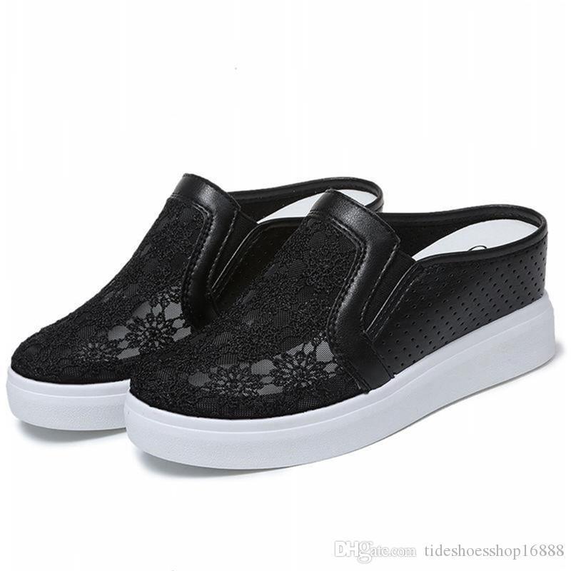 9e5e32f03e55 Sommer Frau Schuhe Plattform Hausschuhe Keil Flip-Flops Frauen High Heel  Hausschuhe Für Frauen Casual Sandalen Weibliche Schuhe