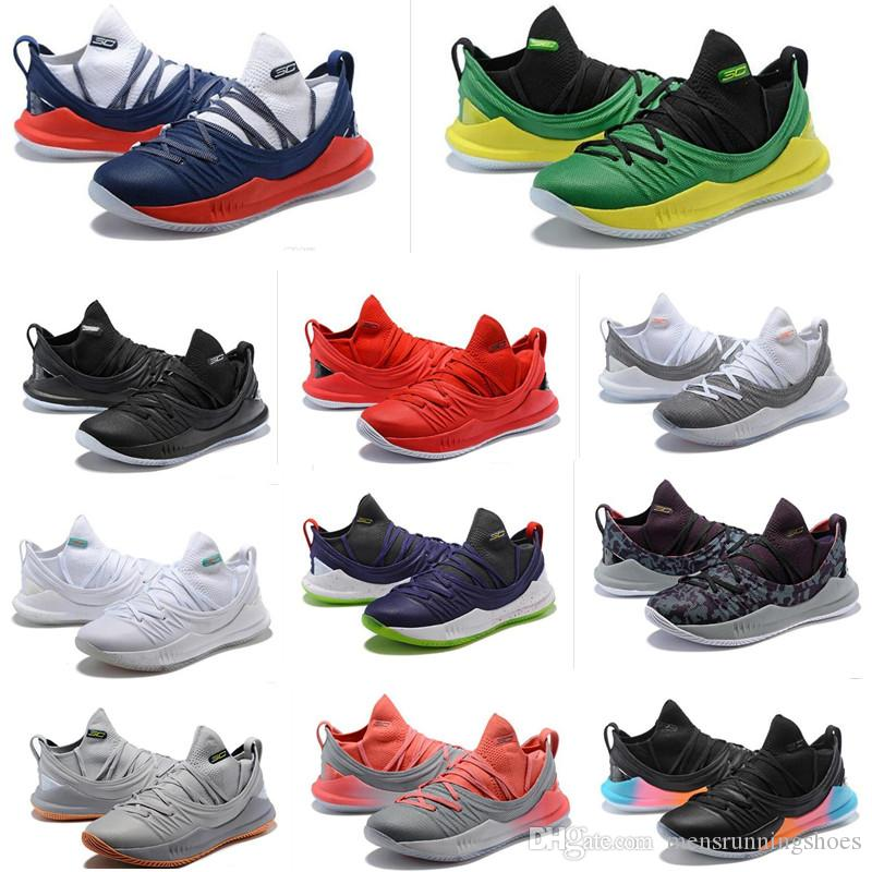 2019 2019 Stephen Curry 5 Basketball Shoes Mens Womens Currys 5s  Championship MVP Finals Sports Training Trainers Shoe Sneakers Size 40 46  From ... e6560fbbc