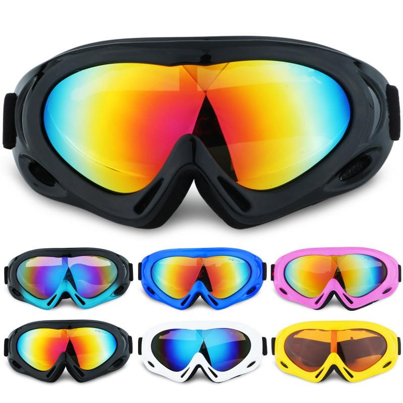 Sand-proof Outdoor Sport Mountain Climbing Single Layer Kids Ski Goggles Eye Protection Teenager Skiing Eyewear MMA2019