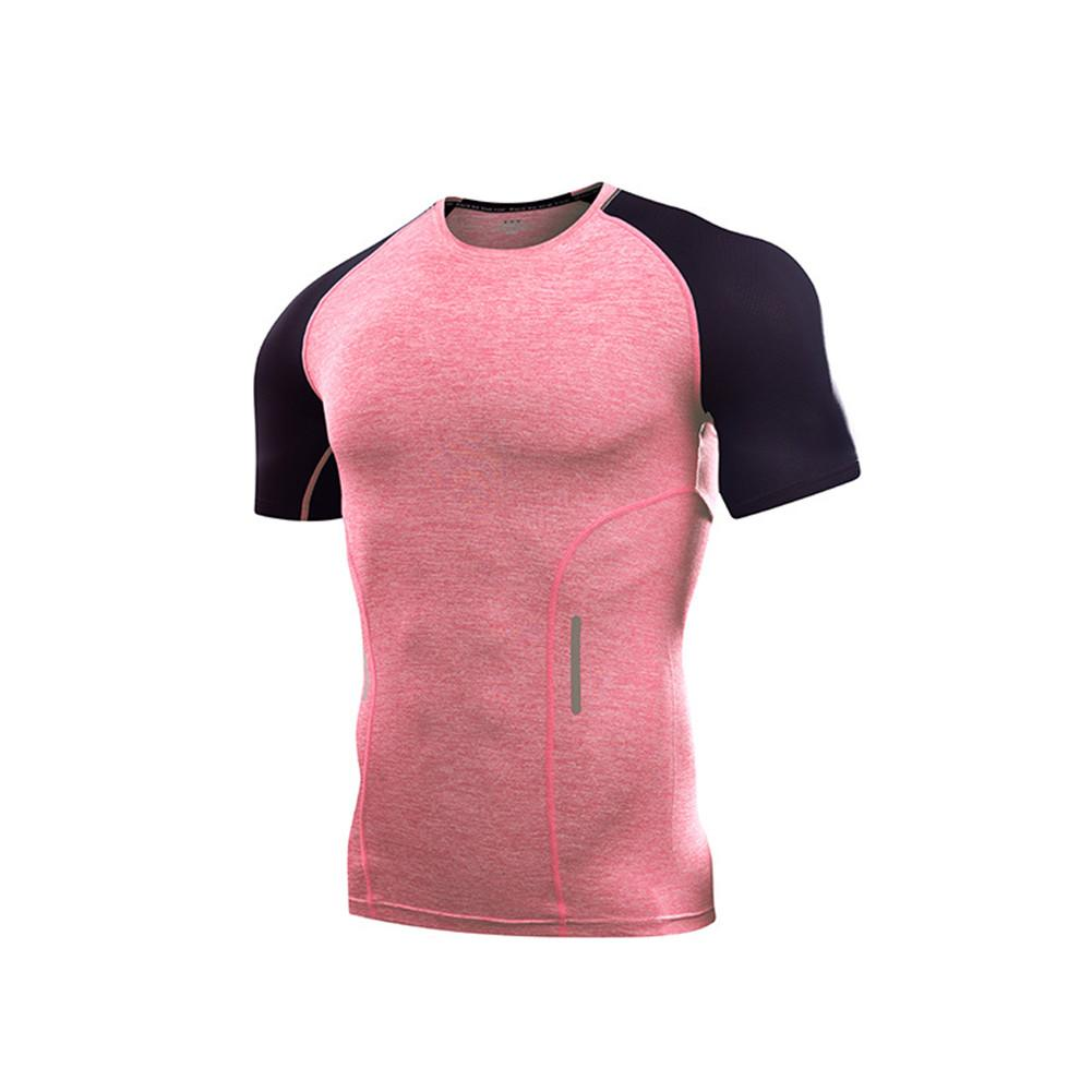ddc47424 Running sports suit men's summer loose breathable fitness clothes men's  quick-drying clothes short-sleeved summer gym t-shirt