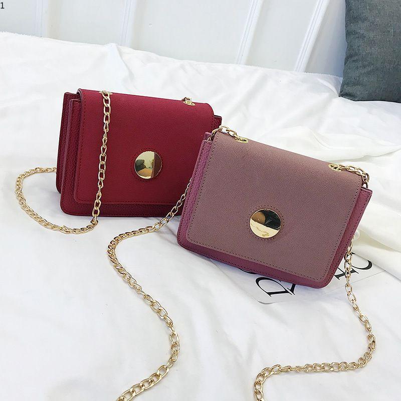 98df8462e Newest Fashion Chain Design Women Handbags Casual Crossbody Bag Luxury Shoulder  Bag Vintage Ladies Messenger Bags Womens Handbags Handbags From  Kaka_store03 ...