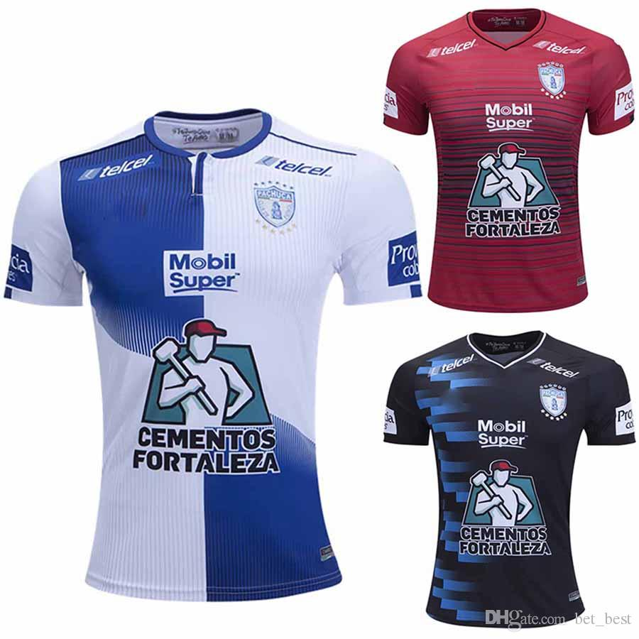 7aa3f9ac8 2019 2018 Pachuca Home Football Jersey Black 18 19 Away Jersey By Charly  2019 3rd Red Camisetas De Futbol Footbal Shirts From Bet best