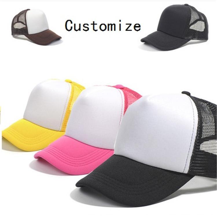 0bf3d1e9d7979 Kids Trucker Cap Adult Mesh Caps Blank Trucker Hats Snapback Hats ...