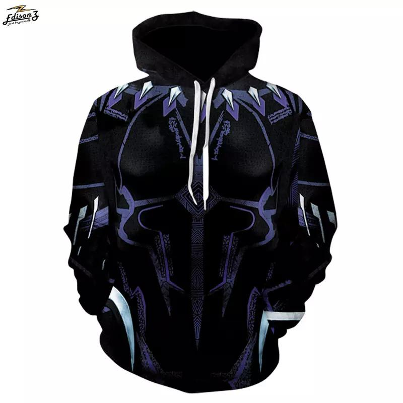 Superhero Movie2018 Dragon Ball Sudadera con capucha Manga larga Pullover Diseño de moda Chándales Streetwear Hoodies Plus Size 4XL