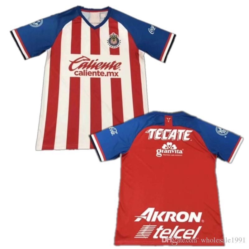 eee42c7ef 2019 2019/20 CHIVAS Guadalajara Soccer Jersey 2020 O.PINEDA A.PULIDO  I.BRIZUELA Uniform Mens G.SANDOVAL A.SEPULVEDA Football Shirts From  Wholesale1991, ...