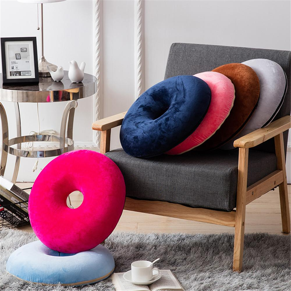 U Miss Summer Foam Donut Seat Cushion Orthopedic Ring Pillow For Hemorrhoid Sciatic Nerve Pregnancy Tailbone Pain 40 X8