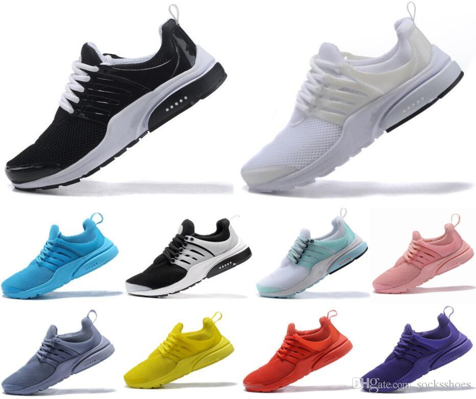 Best Quality Prestos 5 V Men Women Presto Ultra BR QS Yellow Pink Black Oreo luxury sneakers Fashion Jogging designer casual shoes
