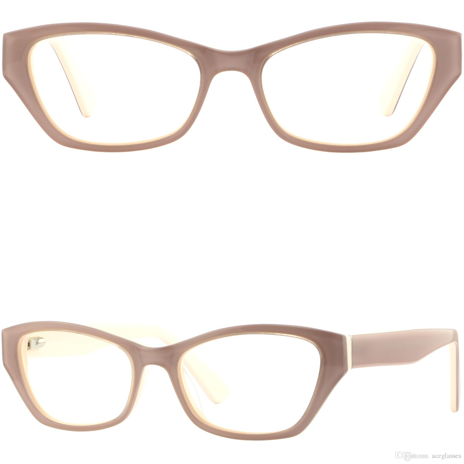 873b1007cf Cateye Women s Acetate Plastic Frames Cat Eye Prescription Glasses ...