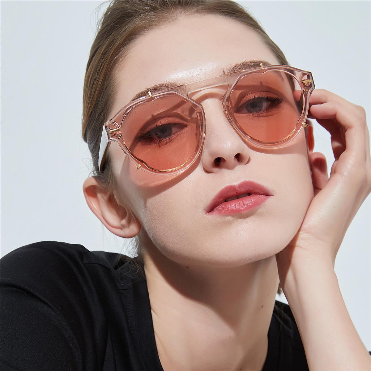 Mujer Mujeres Vintage Para Diseñador De La Calle Gafas Nuevas Moda Sombras Sol Redondo Clásica 2019 UMzGpqVS