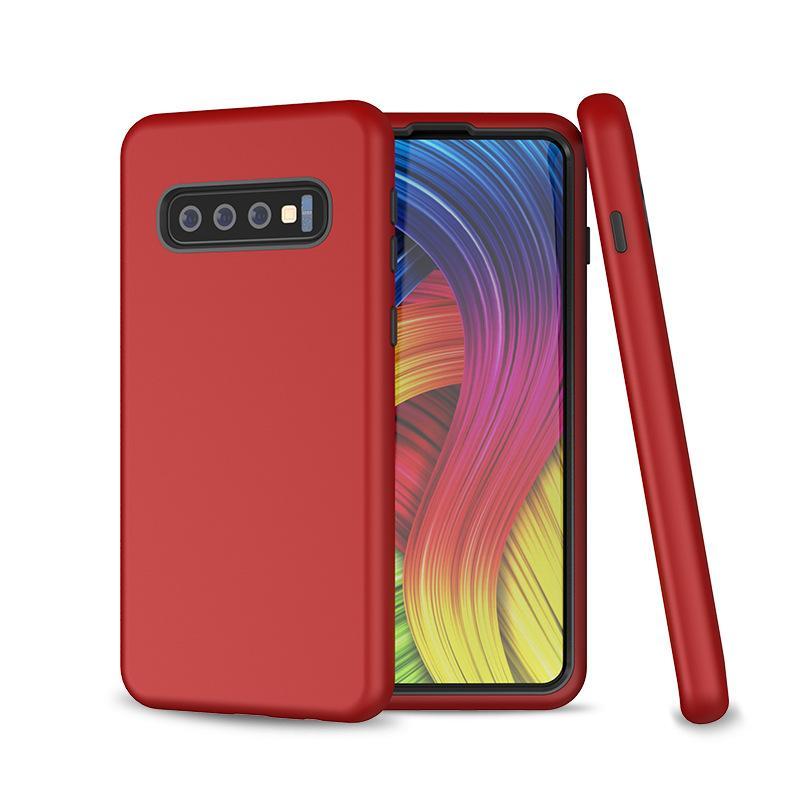 228ec34461a Estuches Para Celulares Estuche Súper Antichoque Híbrido De Armadura  Resistente Para Samsung Galaxy S10 PLUS S10E Nota 9 Note9 S9 Plus J7 2 J4  Prime ...