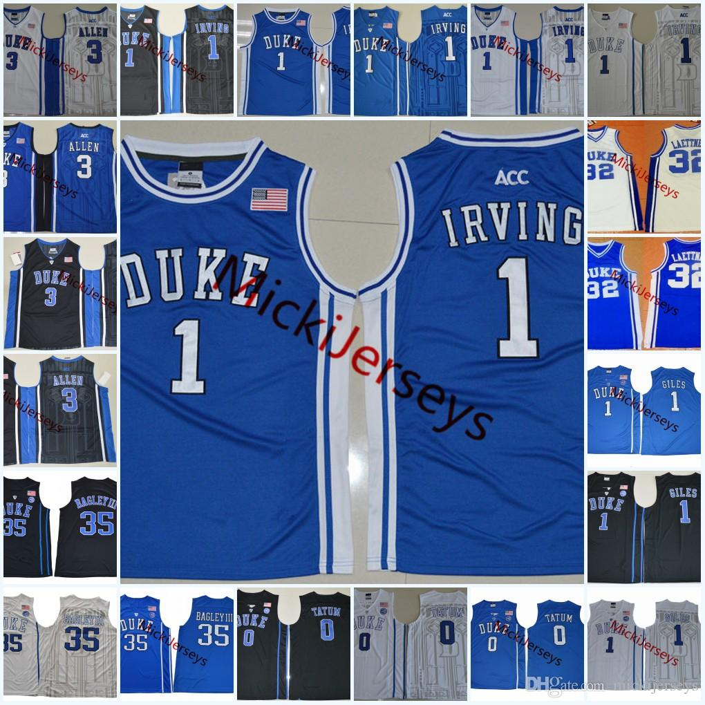 f6568b22b94 Acheter Maillot De Basket Ball Kyrie Irving Des Blue Devils De La NCAA  Christian Laettner Marvin Bagley III Maillot Harry Giles Jayson Tatum  Grayson Allen ...