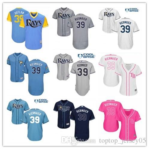 newest 67023 ea480 2018 top ampa Bay Rays Jerseys #39 Kevin Kiermaier Jerseys  men#WOMEN#YOUTH#Men s Baseball Jersey Majestic Stitched Professional  sportswear