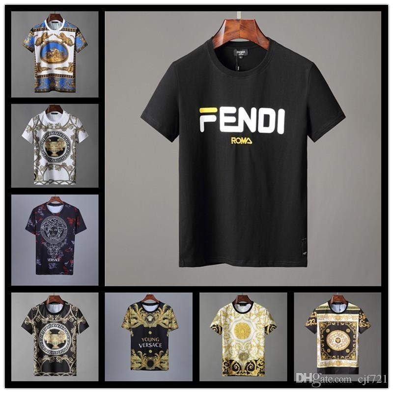 cd6e4e7ca New Italy Luxury Designer Polo Shirt Fashion Luxury Brand Medusa T ...