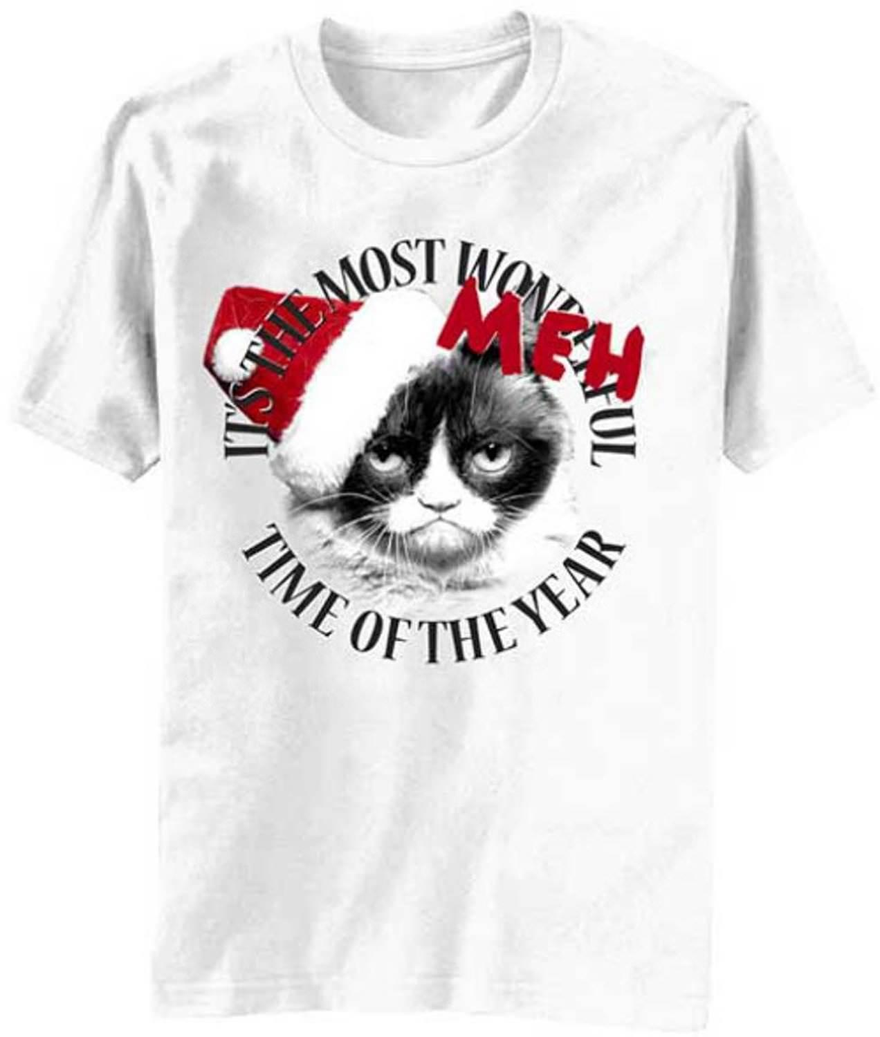 b2b76cb4 Grumpy Cat Its The Most Meh Time Of The Year T Shirt Tees Custom Jersey T  Shirt Buy T Shirts Online Funny Tee Shirts From Happycup, $16.24| DHgate.Com