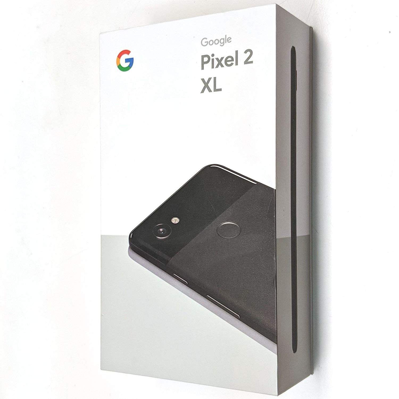 New Brand Google Pixel 2 XL Unlocked GSM/CDMA - ONE YEAR warranty (Just  Black, 128GB)