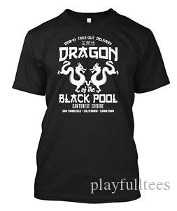Dragon of the BlaShort-Sleeve Pool cantonese chinatown - Camiseta personalizada camiseta
