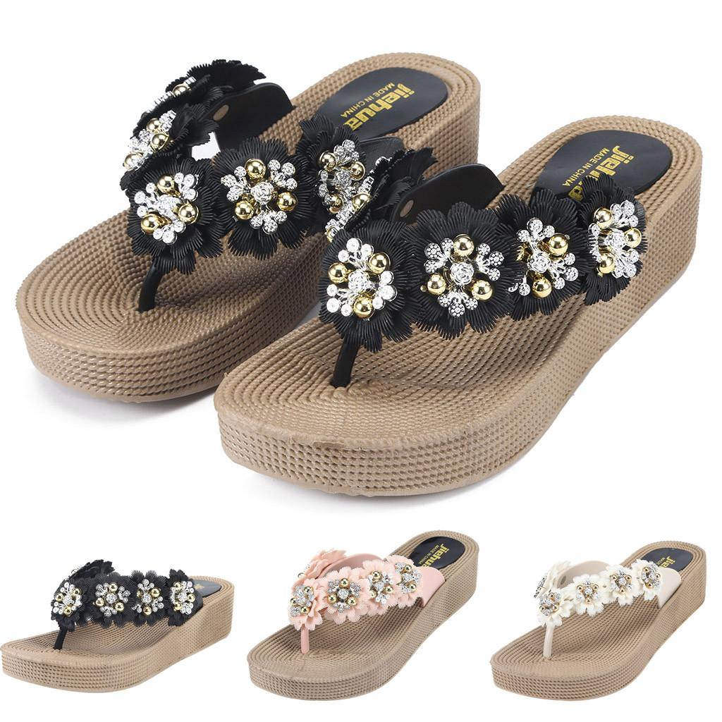 871b73ad0a32 SAGACE 2019 Women Breathable Lightweight Sandal Thick Soled Wear ...