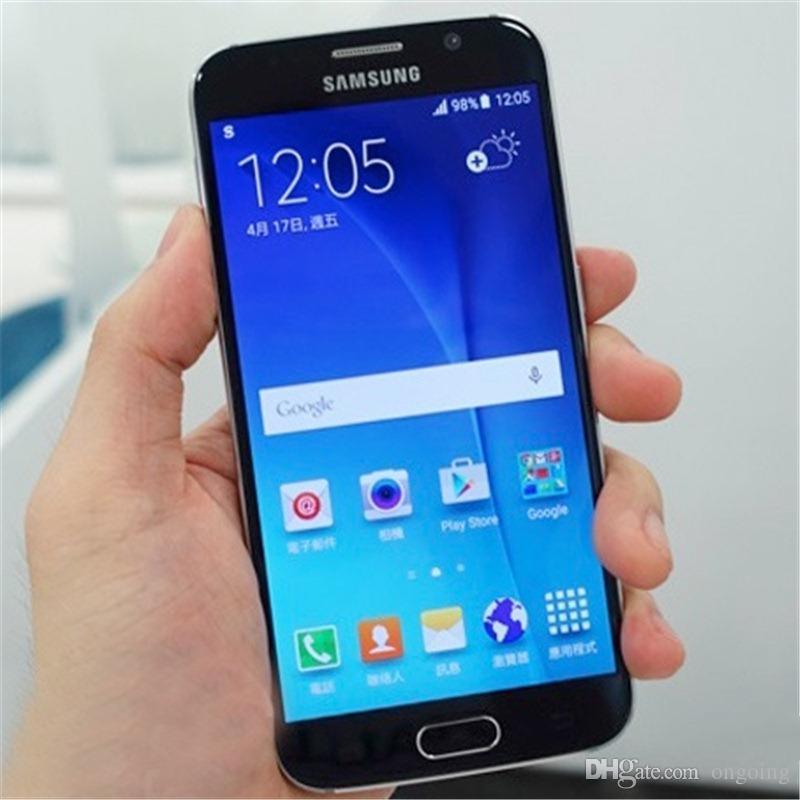 Refurbished Samsung Galaxy S6 G920V G920A G920F Cell Phones Original 5.1 inch 3G 4G LTE 3GB RAM 32GB ROM Smartphone ATT T-mobile Verizon