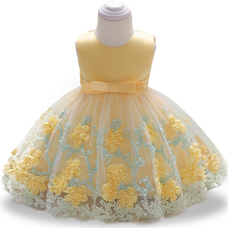 compre vestido de novia de encaje de niña bebé bebé de niña bebé de
