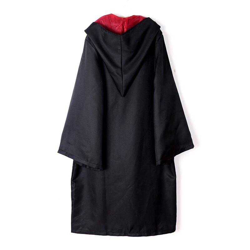 Hot bambini copre cosplay veste il costume di Harry Potter incappucciato Robes con i legami del bambino adulto del costume unisex bambini vestiti magia Robe