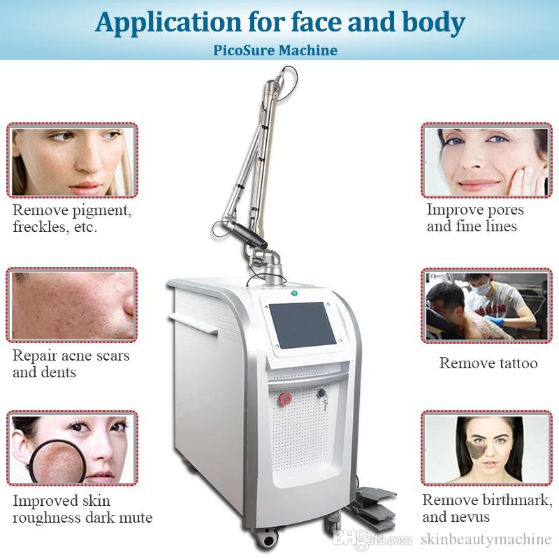 Professional tattoo removal laser beauty salon equipment picosecond q-switch ND yag laser tattoo removal machine CE approved