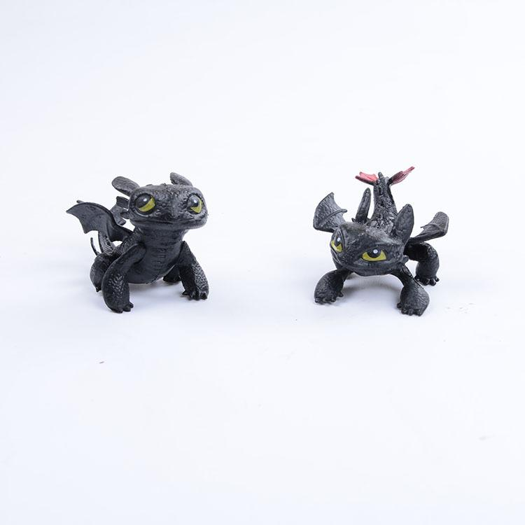 7-8cm How to Train Your Dragon 2 toothless figure toy Dragon Doll kids collection toy gift home ornament FFA1660