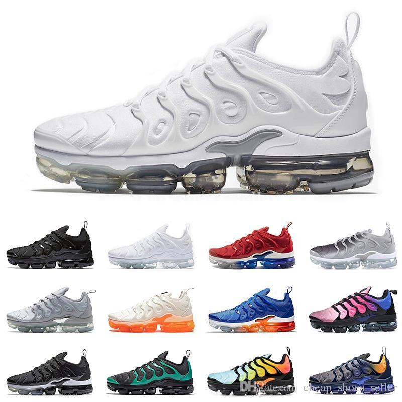 info for 68c3e 38962 Nike Air Vapormax TN Plus Sneaker Men Running Shoes EE. UU. Uva Rojo  Violeta Azul Tropical Sunset Triple Negro Blanco Para Mujer Zapatillas  Zapatillas De ...