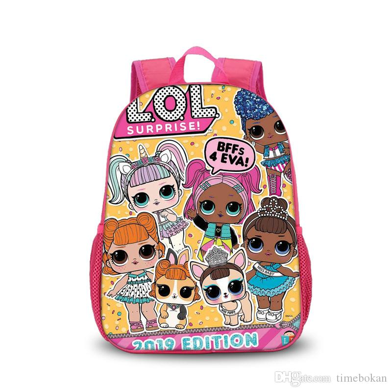 c26cecfae4 LOL Backpacks for Children 24 Styles Kawaii Cartoon Dolls Schoolbag Baby  Girls Fashion Double Shoulder Pack Kids School Lol Bags Schoolbags for  Children Lol ...