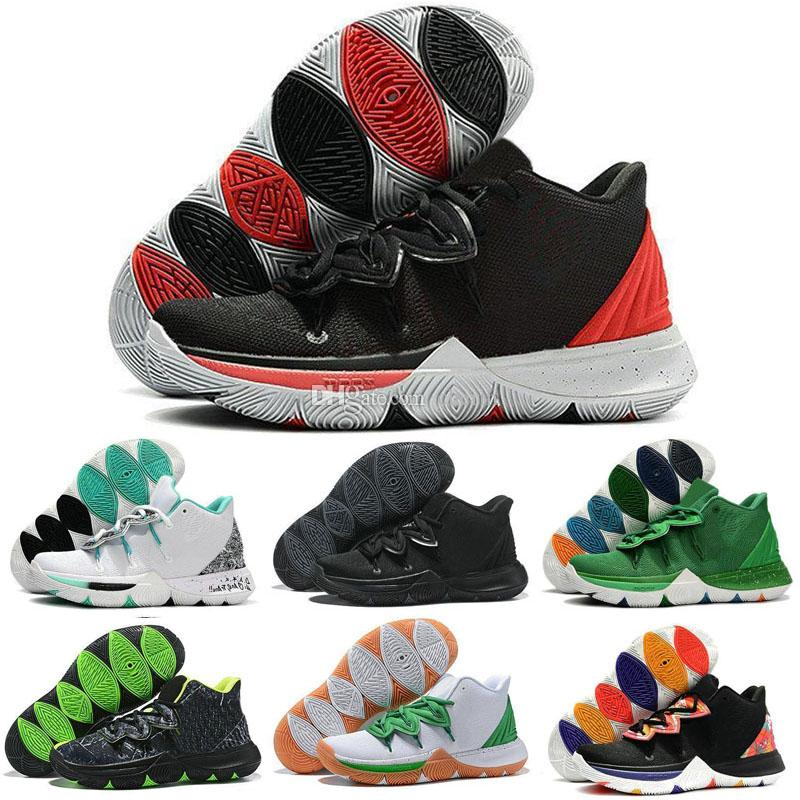 Best Basketball Shoes Kyrie Taco Black Magic 5s 5 3M Men Sneakers . 09f15838d