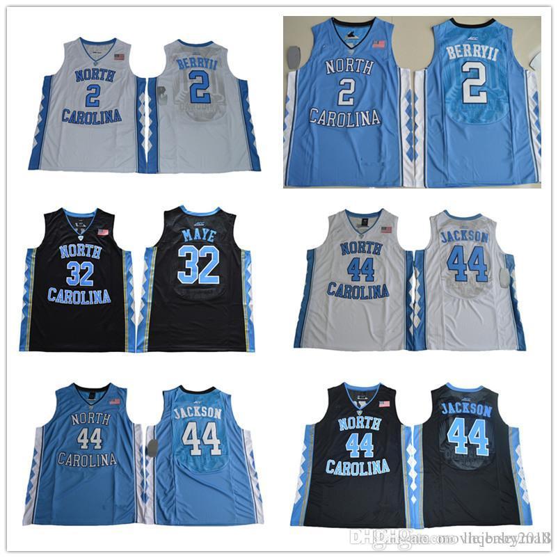 c6137c32d523f6 2019 NCAA North Carolina Tar Heels Joel Berry II 2 Justin Jackson 44 ...