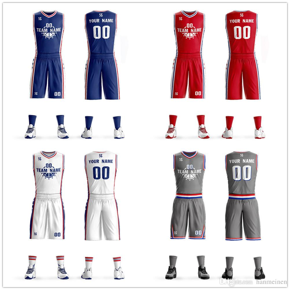 d9c08532244 Men s Tracksuits Cheap Basketball Uniforms Sportswear Custom Sublimated  Basketball Jersey