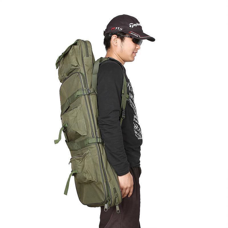 120CM Rifle Tactical airsoft Gun Bag Shotgun backpack With Shoulder Handbag for Hunting Fishing Camping Hunting Nylon Paintball Bag